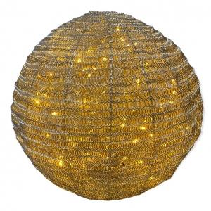 Bol van Ijzerdraad met lichtjes Digacolmore