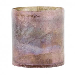 Waxinelichthouder Borba Roze 10x11cm