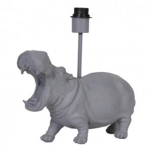 Tafellamp Hippo Mat Grijs Light&Living