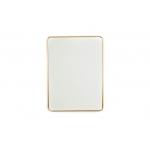 Spiegel Rechthoekig Goudkleurig Housevitamin 80x60cm
