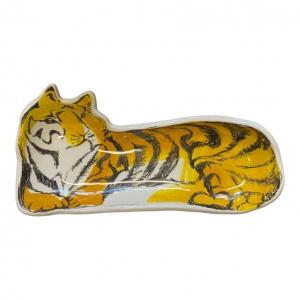 Plate Lying Tiger schaal &Klevering Amsterdam