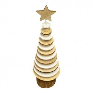 Kerstboom van Hout Medium 30x12cm