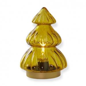 Kerstboom Led Okergeel Light&Living 12x18cm