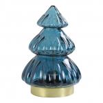 Kerstboom Led Donkerblauw Light&Living 12x18cm